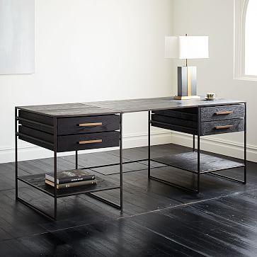 home office furniture desks chairs and shelves west elm. Black Bedroom Furniture Sets. Home Design Ideas
