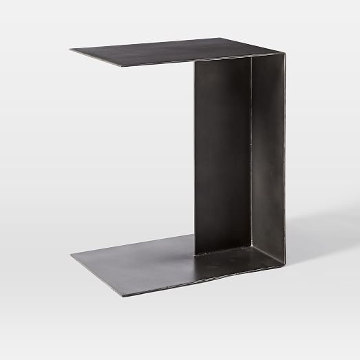 Hayes C Shaped Side Table West Elm .