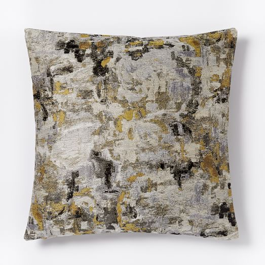 Watercolor Tapestry Pillow Cover - Neutral Multi