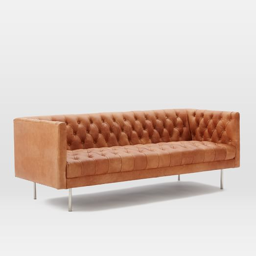Sofas + Loveseats All Sofas Modern Chesterfield 79