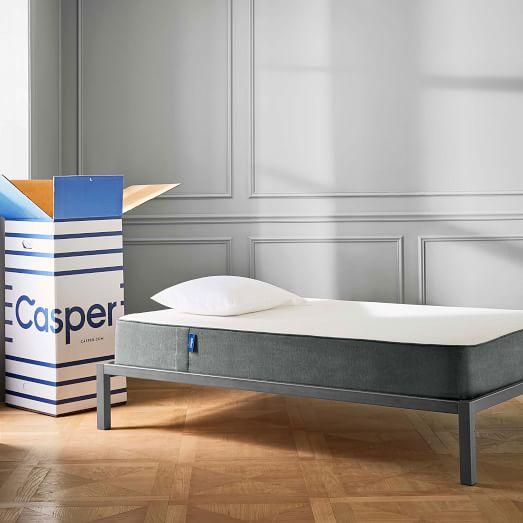 casper mattress west elm. Black Bedroom Furniture Sets. Home Design Ideas