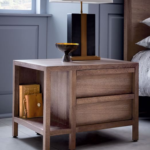 Off White Rustic Nightstands