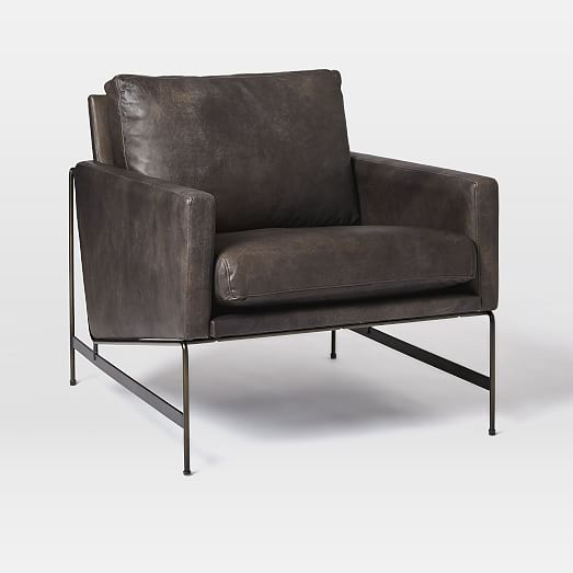 Uptown Leather Lounge Chair