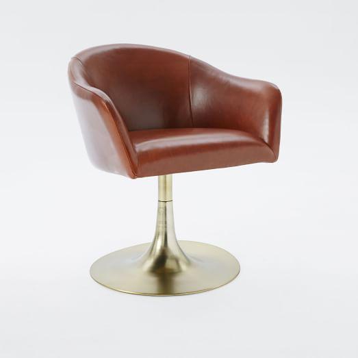 Bond Leather Swivel fice Chair