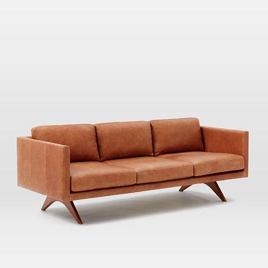 Brooklyn Leather Sofa West Elm