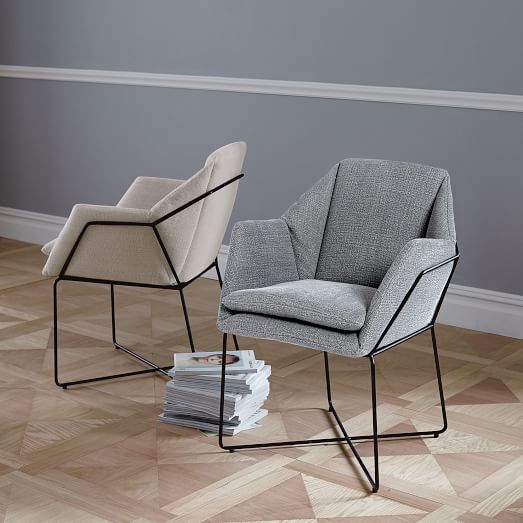 origami dining chairs west elm. Black Bedroom Furniture Sets. Home Design Ideas