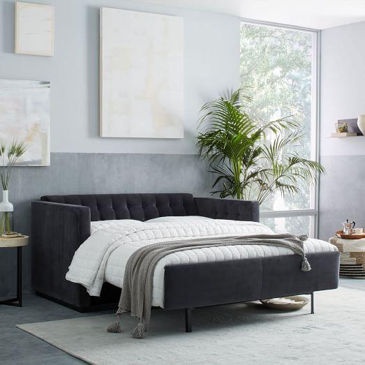 Rochester deluxe sleeper sofa west elm for Sofa deluxe