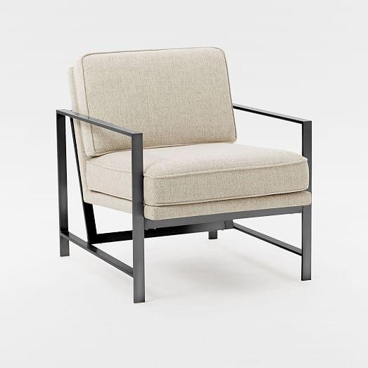 Metal Frame Upholstered Chair west elm : metal frame upholstered chair 2 c from www.westelm.com size 523 x 523 jpeg 20kB