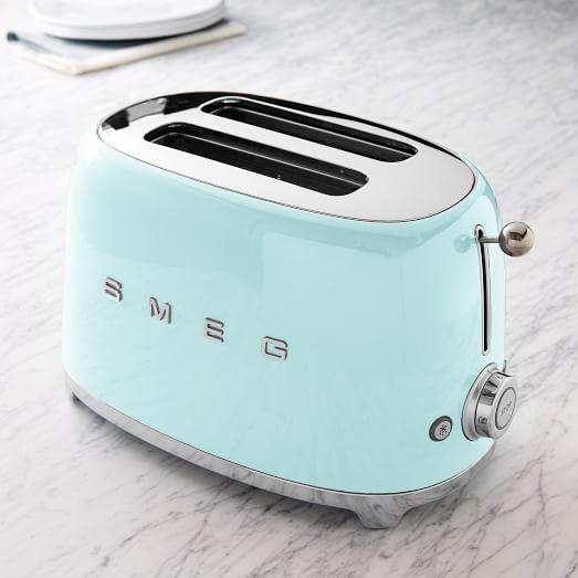 smeg toaster 2 slice west elm. Black Bedroom Furniture Sets. Home Design Ideas