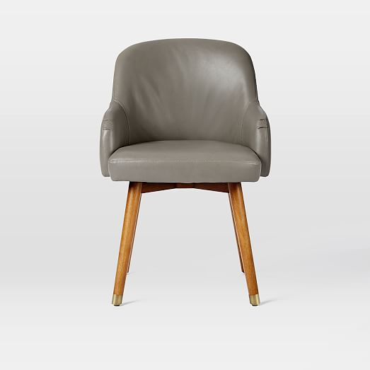Saddle Office Chair Leather West Elm