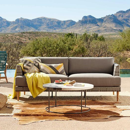 resort woven sofa west elm. Black Bedroom Furniture Sets. Home Design Ideas