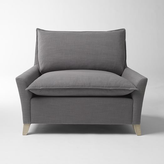 Bliss Down-Filled Chair-and-a-Half | west elm