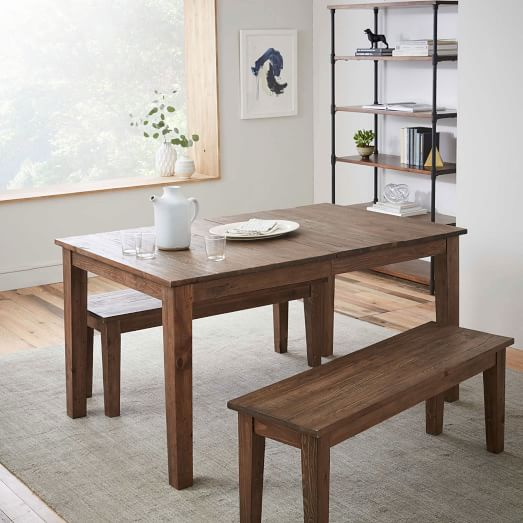 Bedford Expandable Dining Table West Elm