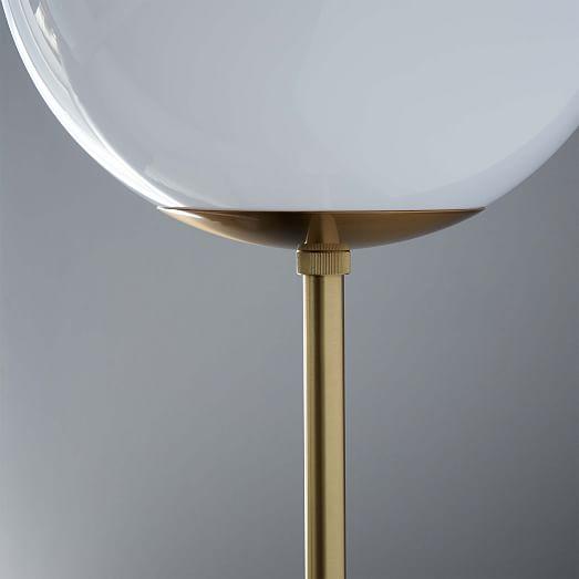 globe floor lamp west elm. Black Bedroom Furniture Sets. Home Design Ideas