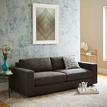 Urban 3 Piece L Shaped Sectional Heathered Tweed West Elm
