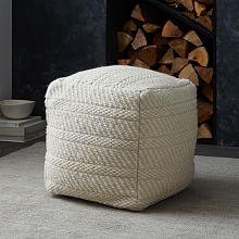 Floor Pillows West Elm : Poufs & Floor Pillows west elm