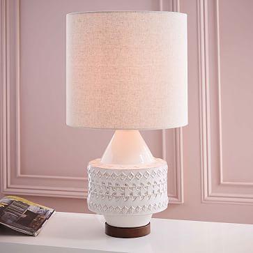 Scandi Ceramic Table Lamp Medium West Elm