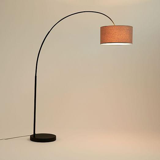 Overarching Floor Lamp Antique Bronze West Elm