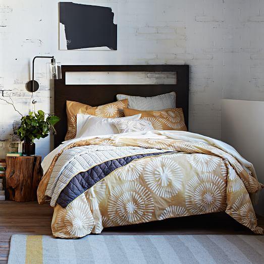 honey blossom layered bed set west elm. Black Bedroom Furniture Sets. Home Design Ideas