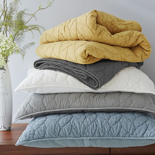 Braided Quilt - Ivory