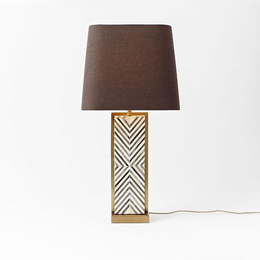 Chevron Deco Table Lamp