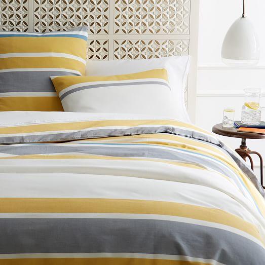 sol stripe sham west elm. Black Bedroom Furniture Sets. Home Design Ideas