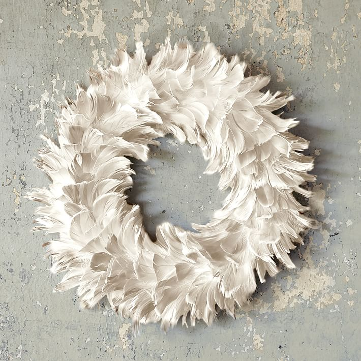 feather wreath west elm astonishing home stores west elm