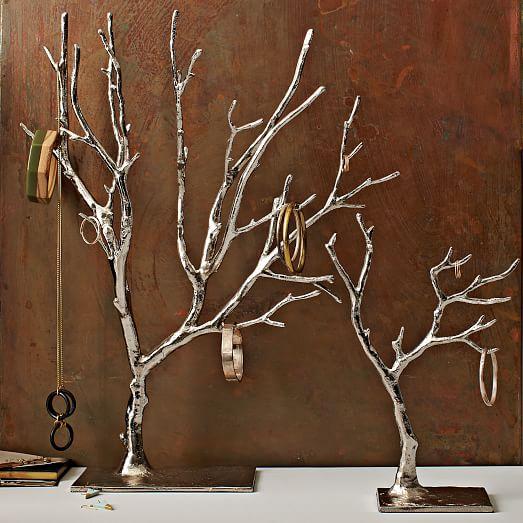 Cast Metal Jewelry Tree