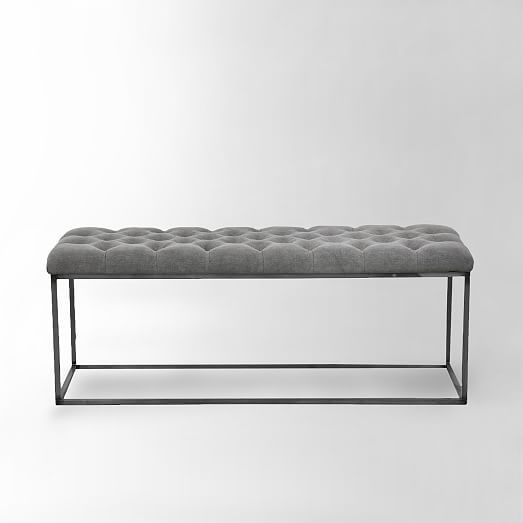 Tufted Bench West Elm
