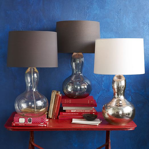 Gourd Table Lamp Mercury West Elm