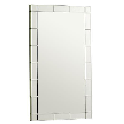 Wall framed mirrors