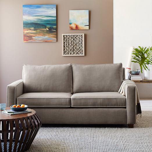 henry sofa 76 west elm. Black Bedroom Furniture Sets. Home Design Ideas