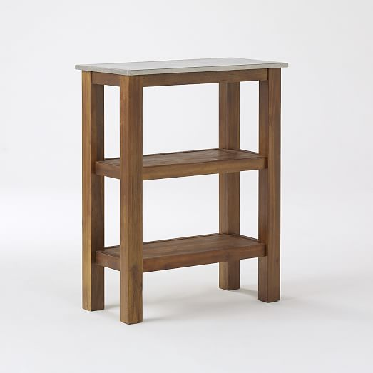 West Elm Rustic Kitchen Table: Rustic Kitchen Prep Counter