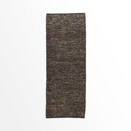West Elm Pebble Rug Review: Mini Pebble Jute Wool Rug – Slate/Natural
