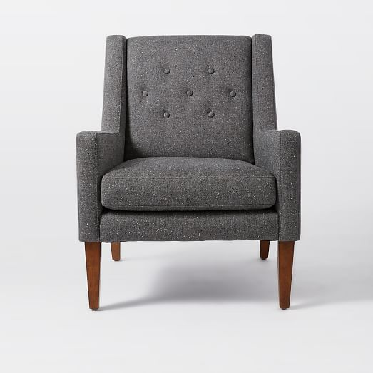 Library Upholstered Chair  west elm