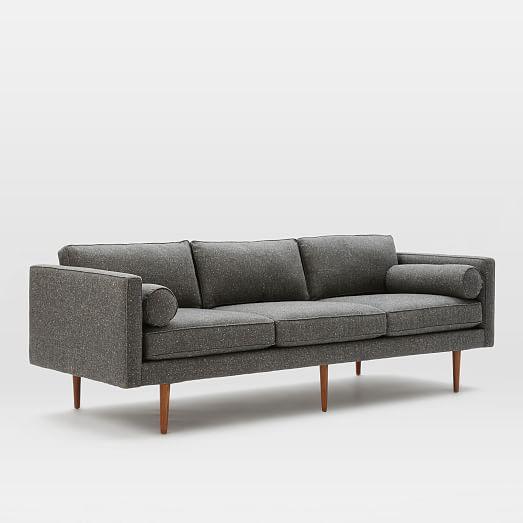 Monroe Mid Century Sofa West Elm