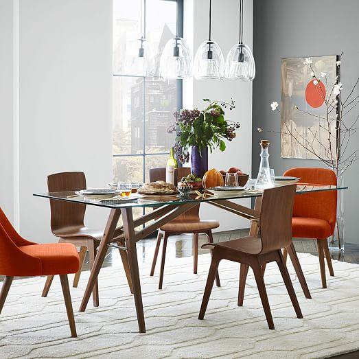 jensen dining table west elm. Black Bedroom Furniture Sets. Home Design Ideas