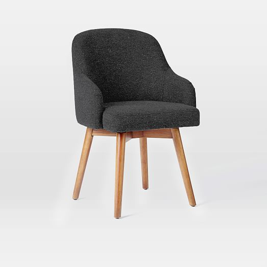 saddle office chairs west elm. Black Bedroom Furniture Sets. Home Design Ideas