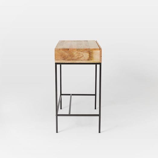 Industrial Storage Mini Desk West Elm