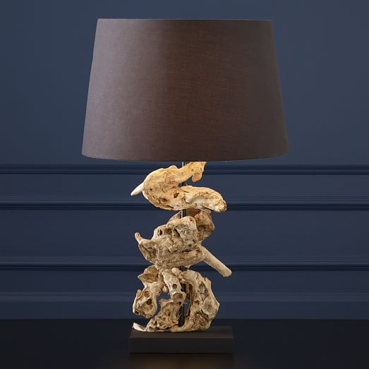 Wood Knot Table Lamp West Elm