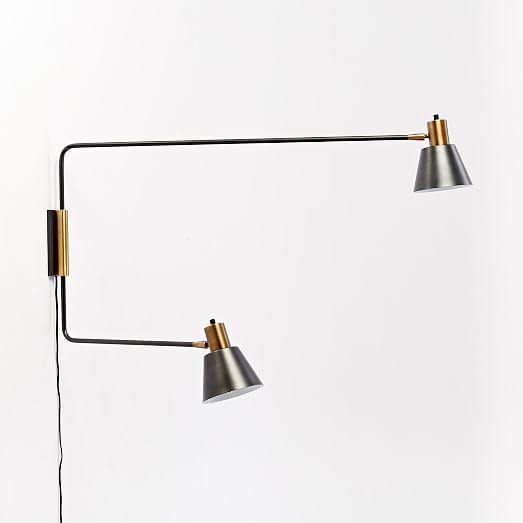west elm rejuvenation cylinder sconce west elm. Black Bedroom Furniture Sets. Home Design Ideas