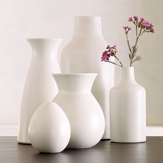 Pure White Ceramic Vases west elm : pure white ceramic vases c from www.westelm.com size 523 x 523 jpeg 19kB