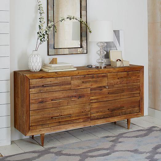 Alexa Reclaimed Wood 7 Drawer Dresser West Elm