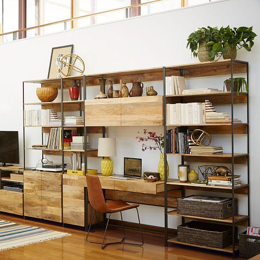 Industrial Modular 33 Bookshelf West Elm