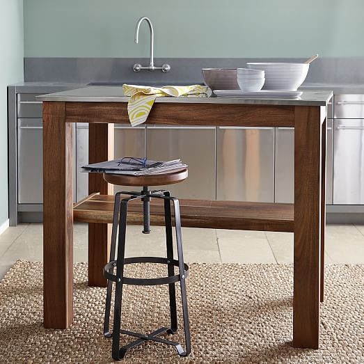 Pics Of Rustic Industrial Kitchen: Rustic Industrial Stool