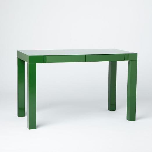 Parsons Desk Spruce Green West Elm