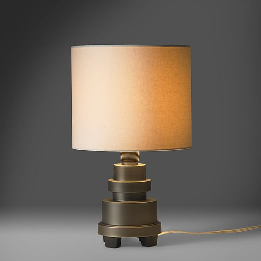 marine breynaert table lamp small west elm. Black Bedroom Furniture Sets. Home Design Ideas
