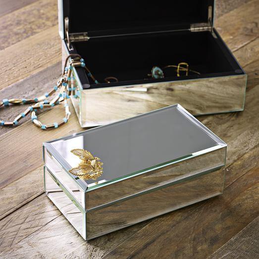 Mirrored Jewelry Box West Elm