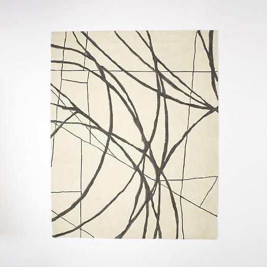 Christopher Wynter Art Rug Ivory
