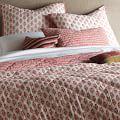 Jaipur Quilt, Full/Queen, Coral